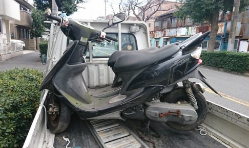 鶴見区バイク買取、JOGZR