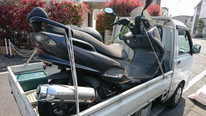 鶴見区バイク引取